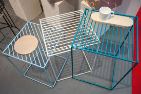 Wire-furniture-with-a-wood-tray-special-designed  Homedit