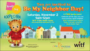 Graphic Design Internships Harrisburg Pa Rsvp For Be My Neighbor Day 2019 With Daniel Tiger Witf