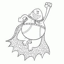 Captain Underpants Kleurplaten Leuk Voor Kids