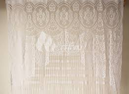 y cute white lace door string curtain panels fly screen for decoration