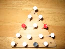 Wooden Peg Games How to Solve the Triangle Peg Game 100 Steps 51