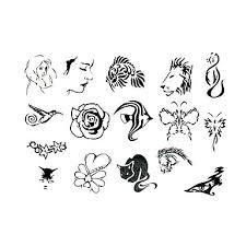 699 5 Ks Květin A Zvířat Dočasné Tetování