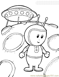 Small Picture Space Alien Coloring Page 04 Coloring Page Free Space Aliens