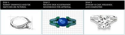 designs by flora custom jewelry design