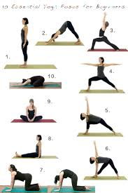 having a grasp on a handful ok two handfuls of basic yoga poses will really make you feel more fortable when you re first getting started