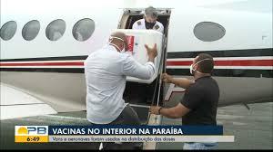Bom Dia Paraíba | Vacinas chegam ao interior da Paraíba através de  aeronaves e vans
