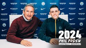 Phil Foden prolonge son contrat jusqu'en 2024
