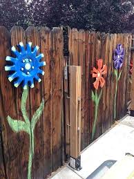 backyard fence decor get creative with these fence decorating ideas and transform your backyard design 3