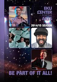 Eku Center Season Brochure 2014 15 By Eku Center For The