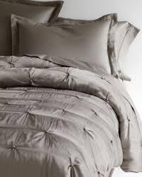 Gray Queen Quilt - Garnet Hill & Eileen Fisher Seasonless Silk Comforter Adamdwight.com