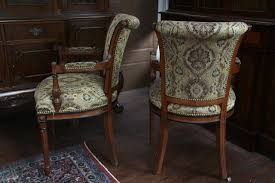 upholstered dining room chairs with arms visionexchange co throughout design 10