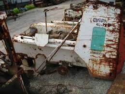 salvaged bobcat skid steer loader for used parts eq  condition used