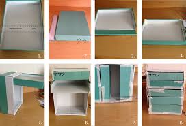 take the shoebox you want to use as the main skeleton of your drawers mere the depth width and height of your box see fig 1