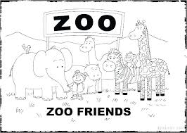 Zoo Animal Coloring Sheets Zoo Animal Coloring Pages Model Printable