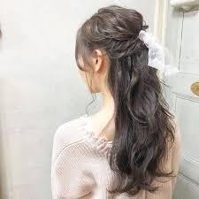 ハーフアップヘアが人気おしゃれなセット方法をマスターして Sucle