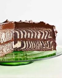 Decorated German Chocolate Cake Cake Recipes Martha Stewart
