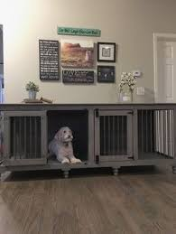 dog crates furniture style. wonderful furniture double doggie den  bu0026b kustom kennels for dog crates furniture style d