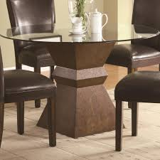 round dining table pedestal base inspirational simple centre piece tables