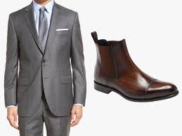 Brown chelsea boots are naturally more relaxed in nature, as the colour works best with blue jeans or chinos in neutral tones. How To Wear Chelsea Boots With A Suit Next Level Gents