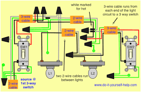 3 way and 4 way wiring diagrams with multiple lights do it 3 way switch wiring diagram multiple lights 3 way and 4 way wiring diagrams with multiple lights do it