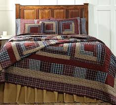 Primitive Country Quilts – co-nnect.me & ... New Primitive Country Americana Navy Blue Wine Tan Log Cabin Quilt King  Size Vhc Primitive Country ... Adamdwight.com