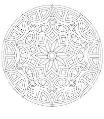 Snowflake Mandala Coloring Pages Free Creativeinfotechinfo