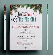 Holiday Dinner Invitation Template Beautiful Christmas Party Invitation Templates Ideas