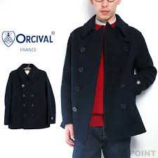 pea coat pea coat ジーロンラムウールメルトン new geelong lam s wool melton double ted coat navy reefing jacket color men men s navy p coat