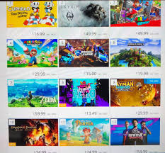 Nintendo Switch Eshop Charts