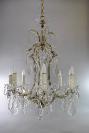 vintage french style 8 arm crystal chandelier 191653941633