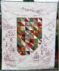 Night Before Christmas Embroidery Quilt from Girls in the Garden ... & Night Before Christmas Embroidery Quilt from Girls in the Garden blog |  Christmas Quilts | Pinterest | Bordado Adamdwight.com