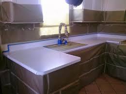 image of white laminate countertops