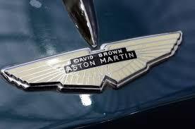 aston martin logo on car. aston martin logo on 1956 db24 mkii car v