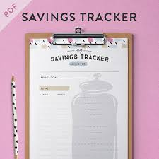 11 Savings Trackers To Visualize Your Savings Progress
