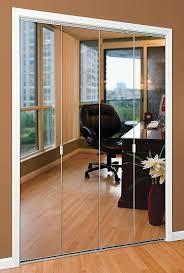 frameless mirrored bifold closet doors series 1 mirror door door systems intended for mirror closet doors