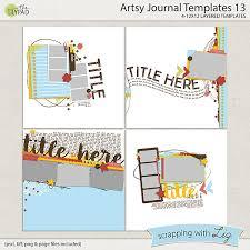Journal Templates Artsy Journal Templates 13