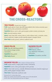 Allergic Reaction Chart Oral Allergy Syndrome Why Raw Fruit Can Make The Mouth Itchy