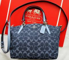 Coach Kelsey Satchel Denim Signature F2581 NWT  Coach  CrossbodySatchel  Designing Women, Hand Bags