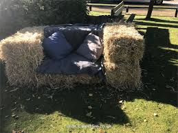 Straw Bale <b>Sofa Small</b> - Bouncy Castle Hire in Coventry ...