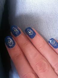 Cutie-cle: 31 Day Nail Challenge: Week 5 - Blue Nails