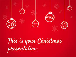 christmas free template free christmas powerpoint template or google slides theme red and warm