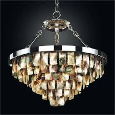 coastal living lighting. Coastal Dining Room Lighting Mother Of Pearl Light Fixture Living T