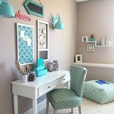 Turquoise Teen Room