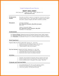 6 Hybrid Resume Examples Emt Resume