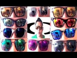 Oakley Sunglasses Lens Tint Review Part 1 Most Common Iridium Colors