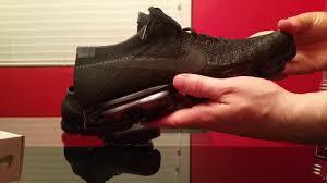 nike vapormax black. nike air vapormax triple black review on feet vapormax