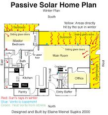 passive house plans. Winter PlanExample Of Passive Solar House Plan Designed And Built By Elaine Plans T