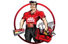 mac tools logo. the driving force behind mac tools logo