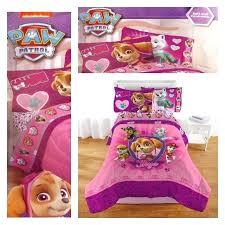 paw patrol skye bedding pink paw patrol microfiber twin bed comforter blanket paw patrol skye toddler