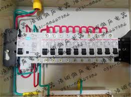 custom made to order distribution box ggd home wiring box wiring how to wire a breaker box diagrams at Power Box Wiring